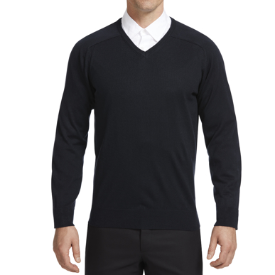 Picture of NNT Uniforms-CATE33-NAV-V-Neck Sweater