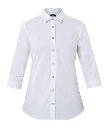 Picture of NNT Uniforms-CATU2L-WHP-3/4 Sleeve Mademoiselle Shirt