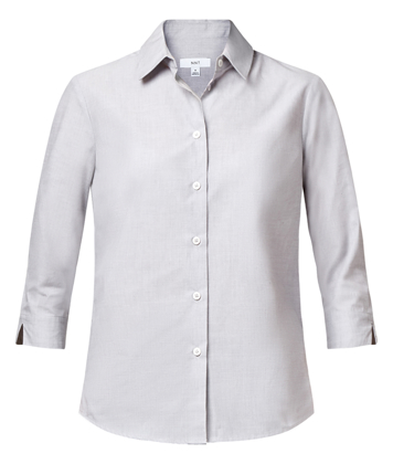 Picture of NNT Uniforms-CATUDH-GRY-3/4 Sleeve Shirt