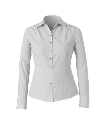 Picture of NNT Uniforms-CAT4KR-WGS-Long Sleeve Gathered Shirt