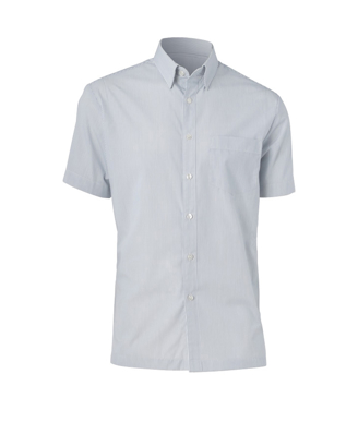 Picture of NNT Uniforms-CATD78-WGS-Short Sleeve Button down Collar Shirt