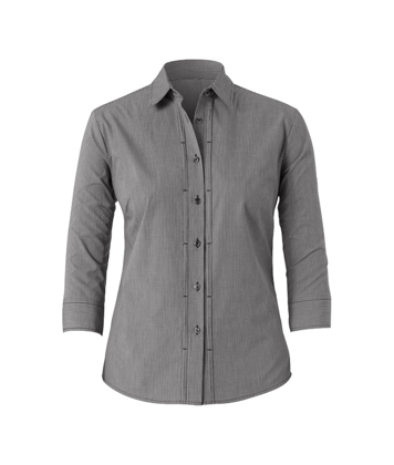 Picture of NNT Uniforms-CAT4LB-BWC-3/4 Sleeve Tuck Shirt