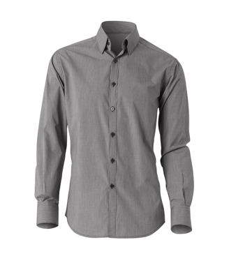 Picture of NNT Uniforms-CATDGY-BWC-Long Sleeve Buttondown Undercollar Shirt