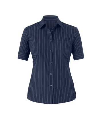 Picture of NNT Uniforms-CAT479-NAS-Short Sleeve Action Bk Shirt