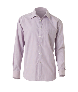 Picture of NNT Uniforms-CATD1E-VIS-Long Sleeve Cutaway Collar Shirt