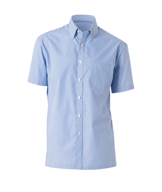 Picture of NNT Uniforms-CATD77-IWS-Short Sleeve Button Down Collar Shirt