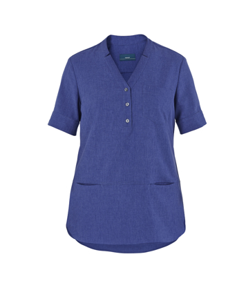 Picture of NNT Uniforms-CAT9XQ-MBL-Short Sleeve Tunic