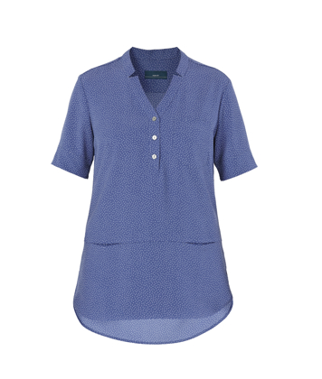 Picture of NNT Uniforms-CAT9XP-MBL-Short Sleeve Tunic