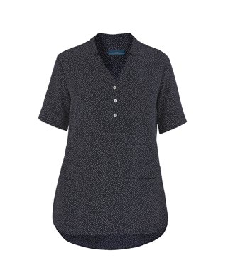 Picture of NNT Uniforms-CAT9XP-NVY-Short Sleeve Tunic