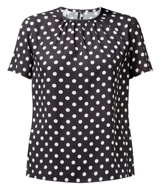 Picture of NNT Uniforms-CATUG2-BKT-Short Sleeve Spot Blouse