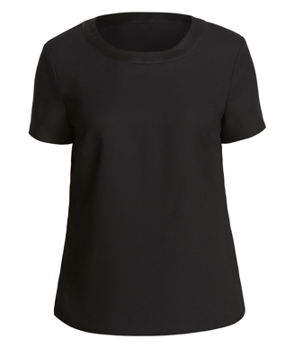 Picture of NNT Uniforms-CATU2N-BKP-Short Sleeve Shell Top