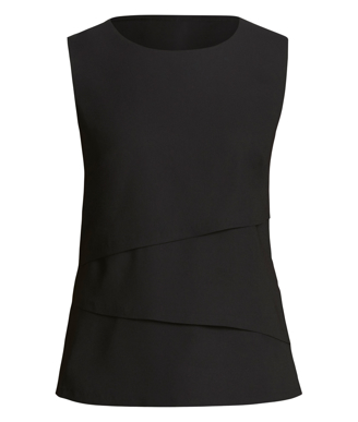 Picture of NNT Uniforms-CAT9XC-BKP-Sleeveless Layered Top