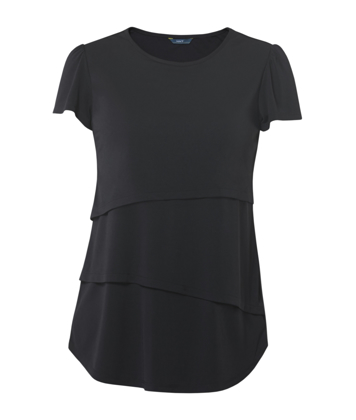 Picture of NNT Uniforms-CAT9XG-NDP-Short Sleeve Layered Top