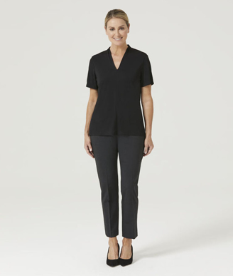 Picture of NNT Uniforms-CATUHP-BKP-V-Neck Jersey Top