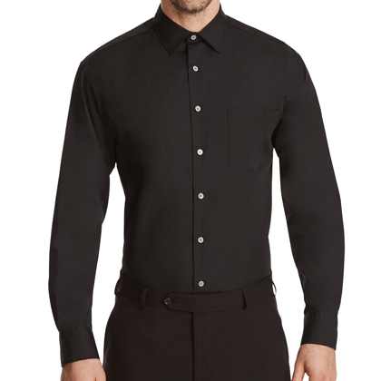 Picture of NNT Uniforms-CATJ4B-BLK-Long Sleeve Shirt