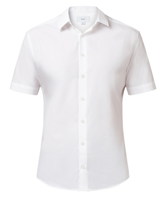 Picture of NNT Uniforms-CATJ8X-WHT-Short Sleeve Shirt