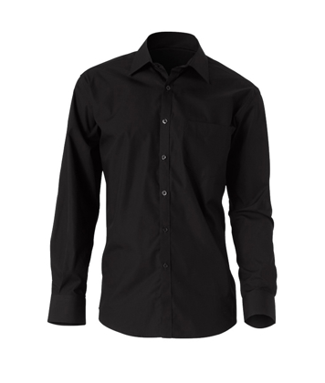 Picture of NNT Uniforms-CATD1H-BKP-Long Sleeve Cutaway Collar Shirt