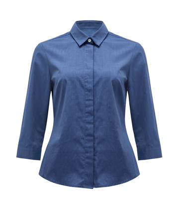 Picture of NNT Uniforms-CATU5Y-MBL-3/4 Sleeve Shirt