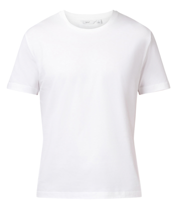 Picture of NNT Uniforms-CATJ8W-WHT-Short Sleeve Crew Neck tee