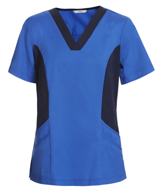 Picture of NNT Uniforms-CATU5B-BLU-Nightingale V-neck scrub top