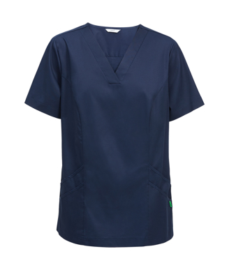 Picture of NNT Uniforms-CATU5F-NAV-Nightingale V-neck scrub top