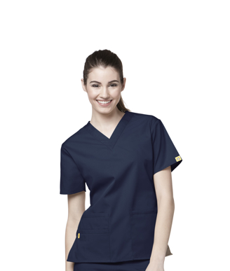 Picture of NNT Uniforms-CATU66-NAV-Scrub top Bravo