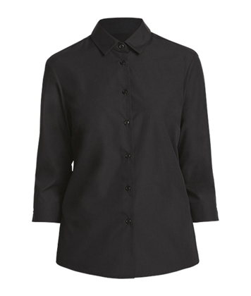 Picture of NNT Uniforms-CATU88-BLK-3/4 Sleeve Shirt