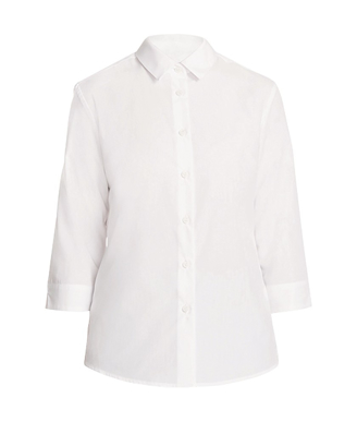 Picture of NNT Uniforms-CATU88-WHT-3/4 Sleeve Shirt