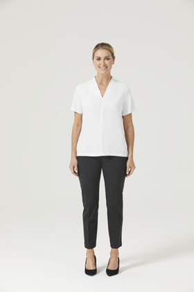 Picture of NNT Uniforms-CATUHP-WHP-V-Neck Jersey Top