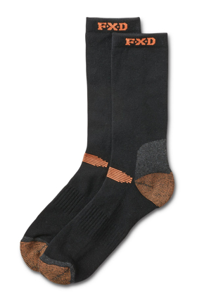 Picture of FXD Workwear-SK-2 4pk Socks-Assorted SK-2 4PK Socks