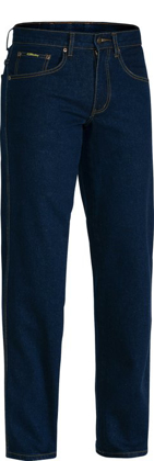 Picture of Bisley Workwear-BP6712-Rough Rider Stretch Denim Jean
