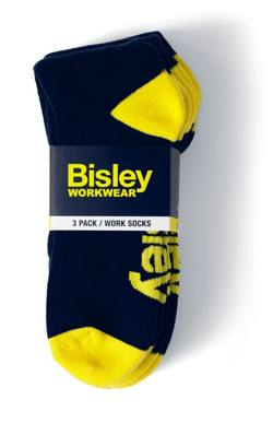 Picture of Bisley Workwear-BSX7210-Work Socks 3Pack