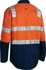 Picture of Bisley Workwear-BS6432T-3M Taped Cool Lightweight Hi Vis Shirt With Shoulder Tape Long Sleeve