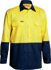 Picture of Bisley Workwear-BS6895-Cool Lightweight Hi Vis Drill Shirt Long Sleeve