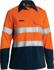 Picture of Bisley Workwear-BL8082T-Womens Tencate Tecasafe® Plus 700 Taped Hi Vis Fr Vented Shirt Long Sleeve