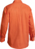 Picture of Bisley Workwear-BSC6433-Closed Front Hi Vis Cotton Drill Shirt Long Sleeve