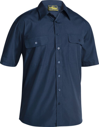 Picture of Bisley Workwear-BS1526-Permanent Press Short Sleeve