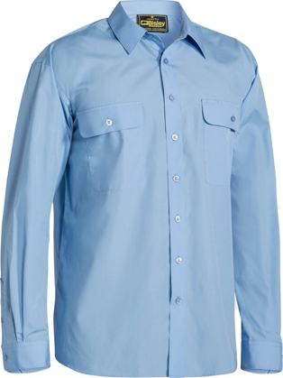 Picture of Bisley Workwear-BS6526-Permanent Press Long Sleeve