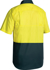 Picture of Bisley Workwear-BS1895-Cool Lightweight Hi Vis Drill Shirt Short Sleeve