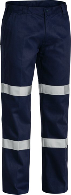 Picture of Bisley Workwear-BP6003T-3M Double Taped Cotton Drill Cargo Pant