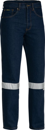 Picture of Bisley Workwear-BP6050T-3Mtaped Rough Rider Jean