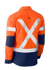 Picture of Bisley Workwear-BS6177XT-Flex & Move™ X Taped Hi Vis Utility Shirt Long Sleeve