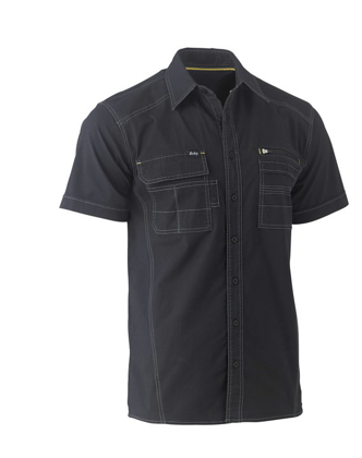 Picture of Bisley Workwear-BS1144-Flex & Move™Utility Shirt Short Sleeve