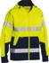 Picture of Bisley Workwear-BK6819T-Taped Hi Vis Fleece Hoodie