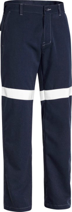 Picture of Bisley Workwear-BP8190T-Tencate Tecasafe® Plus 580 Taped Lightweight Fr Pant
