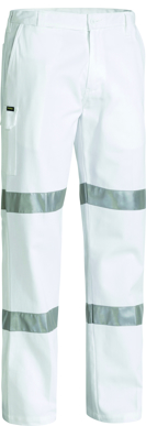 Picture of Bisley Workwear-BP6808T-3M Taped Night Cotton Drill Pant