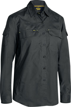 Picture of Bisley Workwear-BL6414-Womens X Airflow™ Ripstop Shirt Long Sleeve