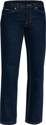 Picture of Bisley Workwear-BPL6053-Womens Industrial Boot Leg Work Denim Jean