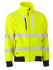 Picture of Bisley Workwear-BJ6979T-Taped Hi Vis Soft Shell Bomber Jacket