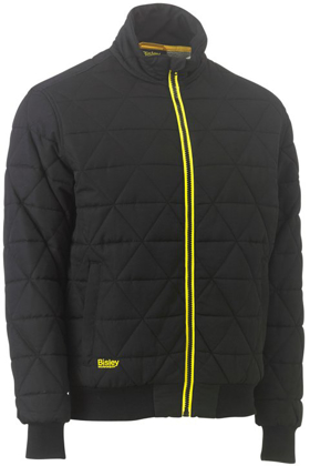 Picture of Bisley Workwear-BJ6976-Quilted Bomber Jacket